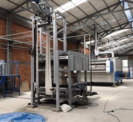 德冠纺机-国内首屈一指的强力呢毯预缩机生产商